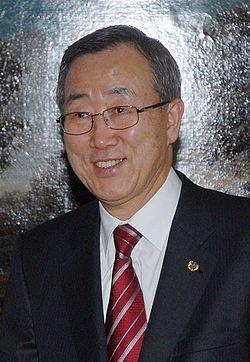 Ban Ki-moon...